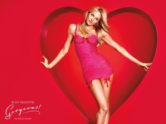 Candice Swanepoel - Victorias Secret Valentines Day