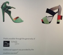 Saks-FIT Shoe Obsession Exhibit