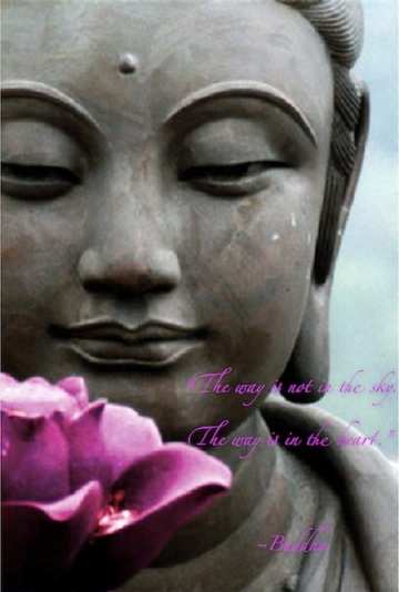 Buddha-The way is in the heart