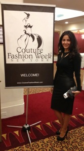 Miki at Couture Gala Event