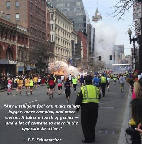 Boston Marathon Bombing 2013