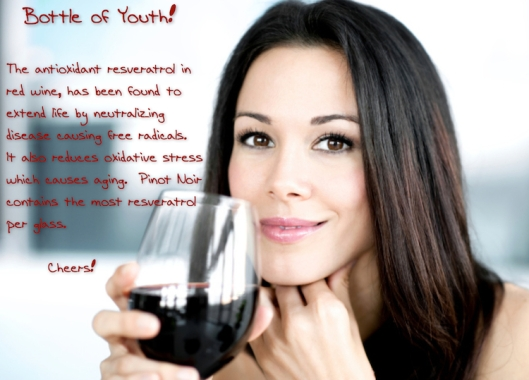 Anti-Aging Red Wine