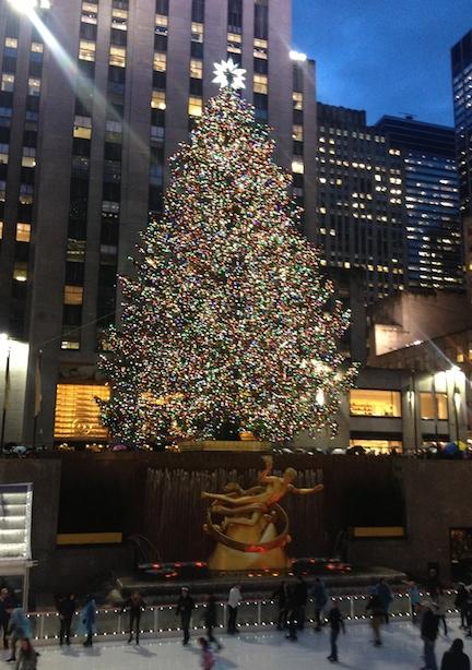 NYC Christmas 2013