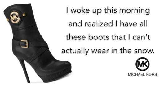 Snow Boots-Michael Kors