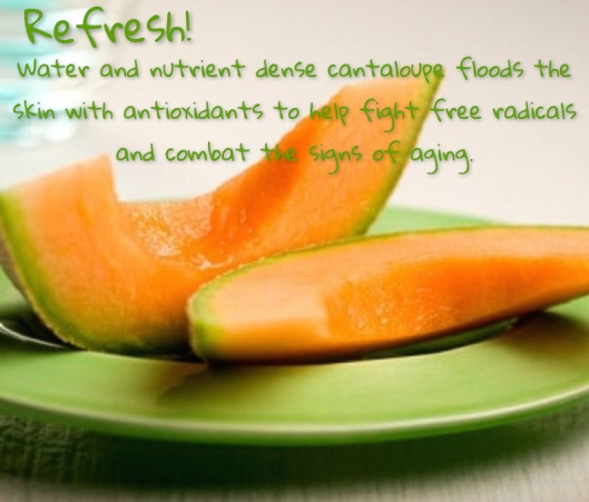Refreshing Cantalope