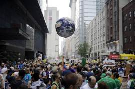 Globe - People's Climate March