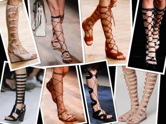 Gladiator Sandals Spring 2015
