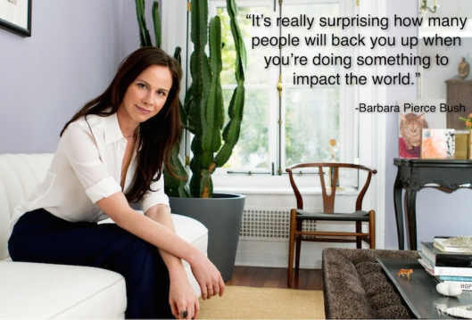 Barbara Bush Quote