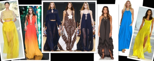 Long Dresses Spring 2015