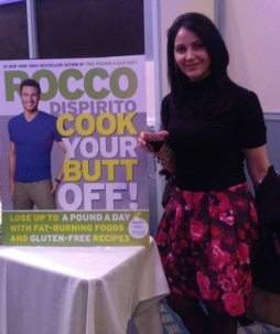 Miki at Rocco Dispirito Book Signing