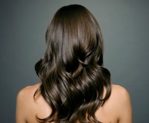 Woman with strong, healthy hair